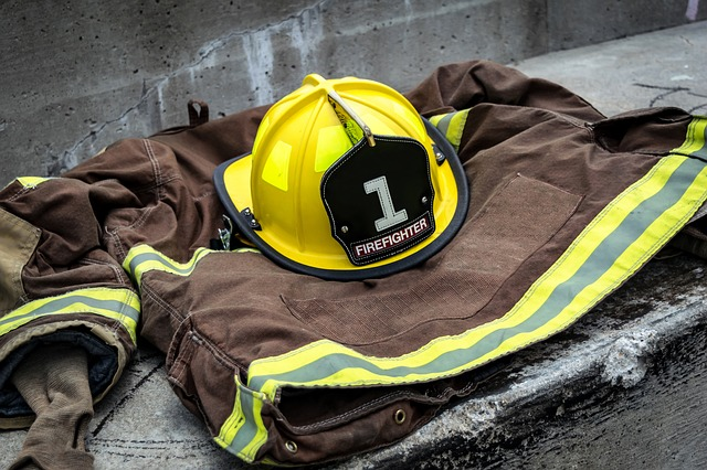 Kurtka strażacka odblaskowa